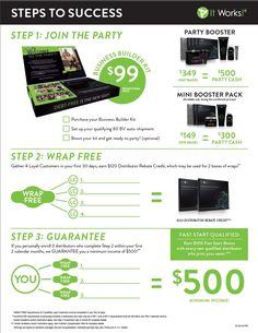 Make More Money With ItWorks Body Wraps  #cash #income #debtfree