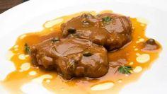 Receta de Lengua en salsa con alcaparras
