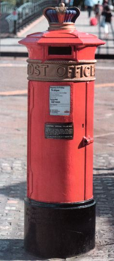 Post Box Last Remaining 1863 (Liverpool) note the Blue Crown