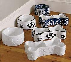 ceramic dog bowls #DogBowls