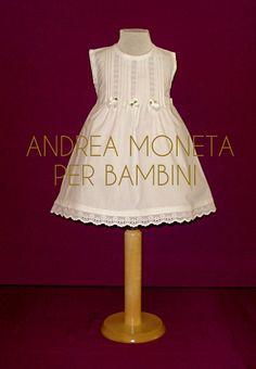 Vestido Blanco Cortejo Fiesta Bebe Nena Bautismo Moneta 019 - $ 999,00 en MercadoLibre