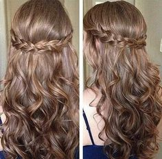 Braid and curls