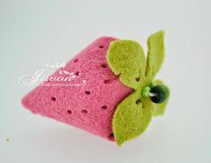 Jiwon's Magnolia Blog: Felt Strawberry