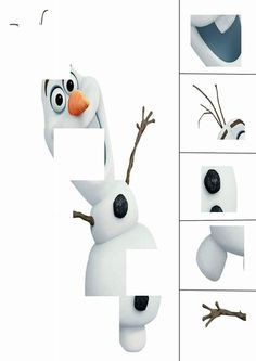 cartoon character cut and paste Cut And Paste, Cartoon Characters, Fictional Characters, Fun Crafts, Free Printables, Snowman, Awesome, Kindergarten, Day Care