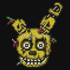 Five Nights at Freddy's 3 - Pixel art - SpringTrap
