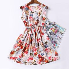 Material:Cotton,Polyester,SpandexSeason:SummerDresses Length:Above Knee, MiniBeautiful Summer Dresses for Ladies.Pick Your Favorite Style and Size NOW!