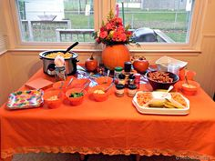 pumpkin party food ideas