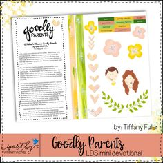 Goodly Parents Mini Devotional – Worthy Written Words