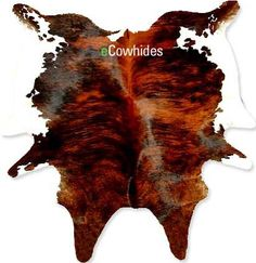 eCowhides.com - Brindle White Belly Cowhide rug on SALE, $198.00 (http://www.ecowhides.com/cowhide-rug-brindle-white-belly-sale/?setCurrencyId=1