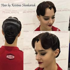 Hair by Kristina Shinkariuk #hairdresses #hairstyle #hair #kristinashinkariuk #dancesport #dancehair #imagemaximum #ballroom #dancecompetition #beauty #muah #make-up #hairstylist #wdsf #прическа #прическадлятанцев