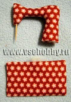 Mimin Dolls: Máquina de costura para Tilda