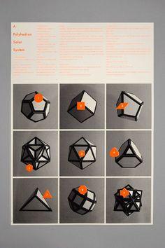 Un système solaire de polyèdres