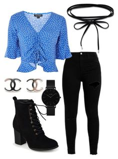 """""""Untitled #239"""" by ninaellie on Polyvore featuring Topshop, Journee Collection, CLUSE and Thomas Sabo"""