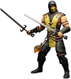 Mortal Kombat X Scorpion Deluxe Action Figure on sale at ToyWiz.com