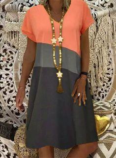 Half Sleeve Dresses, Knee Length Dresses, Short Sleeve Dresses, Dresses With Sleeves, Dresses Dresses, Mini Dresses, Dresses Online, Fashion Dresses, Women's Fashion