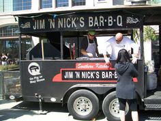 BBQ Food Trucknamed best bbq in bama by news agency polls,down in mobile,al Starting A Food Truck, Pizza Truck, Bbq Signs, Mobile Food Trucks, Food Truck Business, Food Vans, Meals On Wheels, Fire Food, Food Truck Design