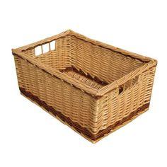 Melbury Rectangular Wicker Storage Basket