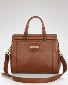 Tory Burch Satchel - Daria Top Handle | Bloomingdale's