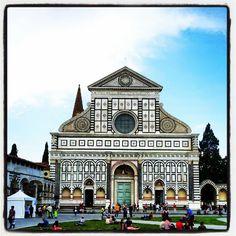 Places I visited: Santa Maria Novella / Florence in Italy
