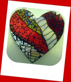 Love Heart by Go Girl Mosaics ~ Jessey in Oregon, via Flickr