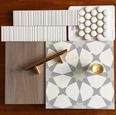 Cement Tile Shop - Encaustic Cement Tile mood board