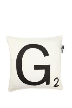 G/D cushion Typo $24.95