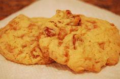 Butter Brickle Pecan Cookies