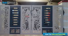 The gate design is a very important moment in the process of designing the fence of a backyard plot or a private house. After all, the gate. Gate Wall Design, Home Gate Design, Grill Gate Design, House Main Gates Design, Steel Gate Design, Main Door Design, House Front Design, Iron Main Gate Design, Entrance Design
