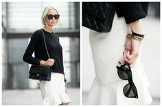 Metti Forssell black & white classy