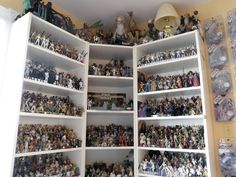 My dream picture of Star Wars Museum. I had about 125 action figures (not a lot) (unfortunately they are out of the boxes with no value) and five action figure cases. Some Star Wars large model toys and Diecasts.