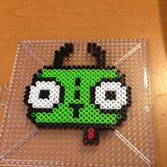 Gir Invader Zim perler beads by tabatha737