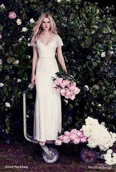 Jenny Packham 2016 Wedding Dress #wedding #dresses #bridal #gown #dress