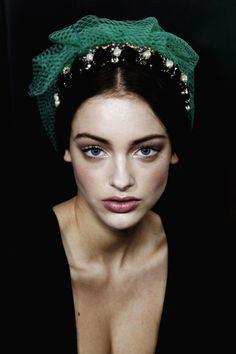 Lucette van Beek @ Dolce and Gabbana F/W 2012