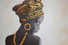 pinturas de africanas en acrilico - Buscar con Google