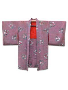 ☆ New Arrival☆ '#Twinkle Twinkle' #women's #antique #silk #Japanese #haori #kimonojacket with #pretty #floral #design from #FujiKimono http://www.fujikimono.co.uk/womens-haori/twinkle-twinkle.html