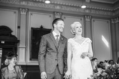 Town Hall Wedding: Hollie and Joel's Eclectic Vintage Inspired Great Yarmouth Wedding By Tatum Reid Photography