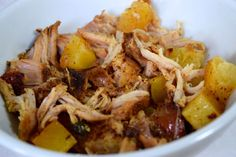 Crockpot Pineapple Pulled Pork - I included the pineapple juice and added a bit of water and cooked on low for about 9 hours. It is so good!
