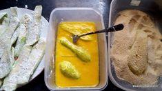Dovlecel pane cu usturoi rețeta de șnițele de dovlecei, zucchini, bostănei sau ludăiță | Savori Urbane