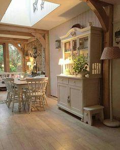 30 Cottage Decoration Everyone should have # Kitchen # Country Kitchen # Kitchen Design . Roof Design, Küchen Design, Interior Design, Modern Design, Design Ideas, Cottage Kitchens, Home Kitchens, Country Kitchen, New Kitchen
