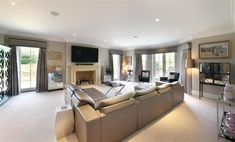 7 bedroom detached house for sale in Fulmer Common Road, Fulmer, Buckinghamshire, - Rightmove. Detached House, Property For Sale, Couch, Bedroom, Blessings, Interiors, God, Furniture, Photos