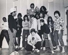 "Russell Rush Simmons, Darryl D.M.C. McDaniels, Dave Lombardo, Adam ""MCA"" Yauch, Michael ""Mike D"" Diamond, Adam ""Ad-Rock"" Horovitz, Jeff Hanneman, Tom Araya, Rick…"