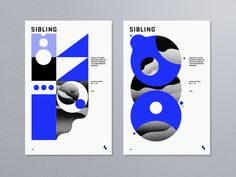 Promotional poster series for Sibling. Larger view attached.