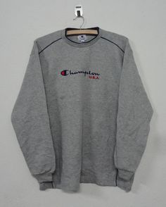 Rare!! Vintage Champion Sweatshirt Reverse Weave Warmup Good condition !!Hip Hop / Swag / Sportwear / Streetwear rw95EcLR