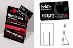 Espositore leaflet per tessere fedeltà. #fidelitycard #visualidentity #GRAFFIOBrand