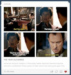 """Not to mention Mycroft and Sherlock playing Operation. 