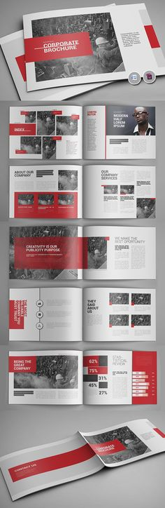 New Brochure Templates Catalog Design Design Graphic Design Junction Layout Design, Design De Configuration, Design Corporativo, Visual Design, Buch Design, Flyer Design, Design Logo, Booklet Design Layout, Sport Design