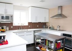 Incredibly stylish and modern kitchen from ModFruGal