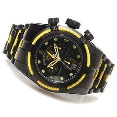 Invicta Reserve Mens Jason Taylor Bolt Zeus Limited Edition Watch w/ Three-Slot Dive Case