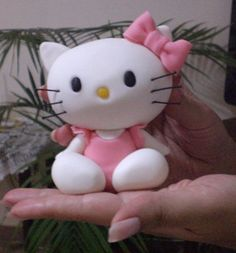 Make This Cute Kitty  But you can't sell them without permission from the makers of Hello Kitty
