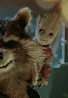 'Rocket' and 'Baby Groot' in 'Guardians Of The Galaxy: Vol 2' (2017)